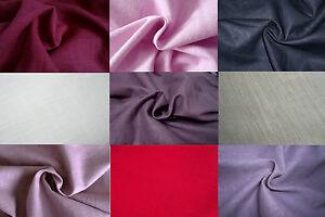Tissu 100 pur lin lav tres haute qualit coloris au choix prix au m tre - Tissu lin lave au metre ...