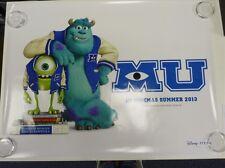 Monsters University UV Coated  Original Film / Movie Poster Quad 76x102cm