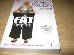 SALLY-MORGAN-Psychic-Sally-039-s-Big-Fat-Operation-DVD-amp-Book-New