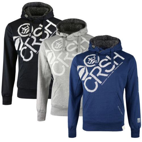 Hood Grey Heren Gevoerde shirt Hoodie Sweat Borg Pullover Vlammende Crosshatch Marl ag0qxq