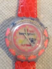 "SWATCH WATCH ""PINK PLEASURE"" NEW IN BOX MINT SCUBA LOOMI SDN 900"