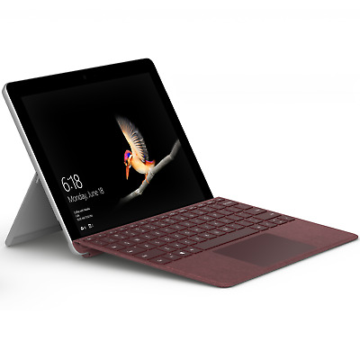 """Microsoft Surface Go 10"""" 4415Y 8GB/128GB SSD Win10 S MCZ-00003 + TC Bordeaux Rot"""