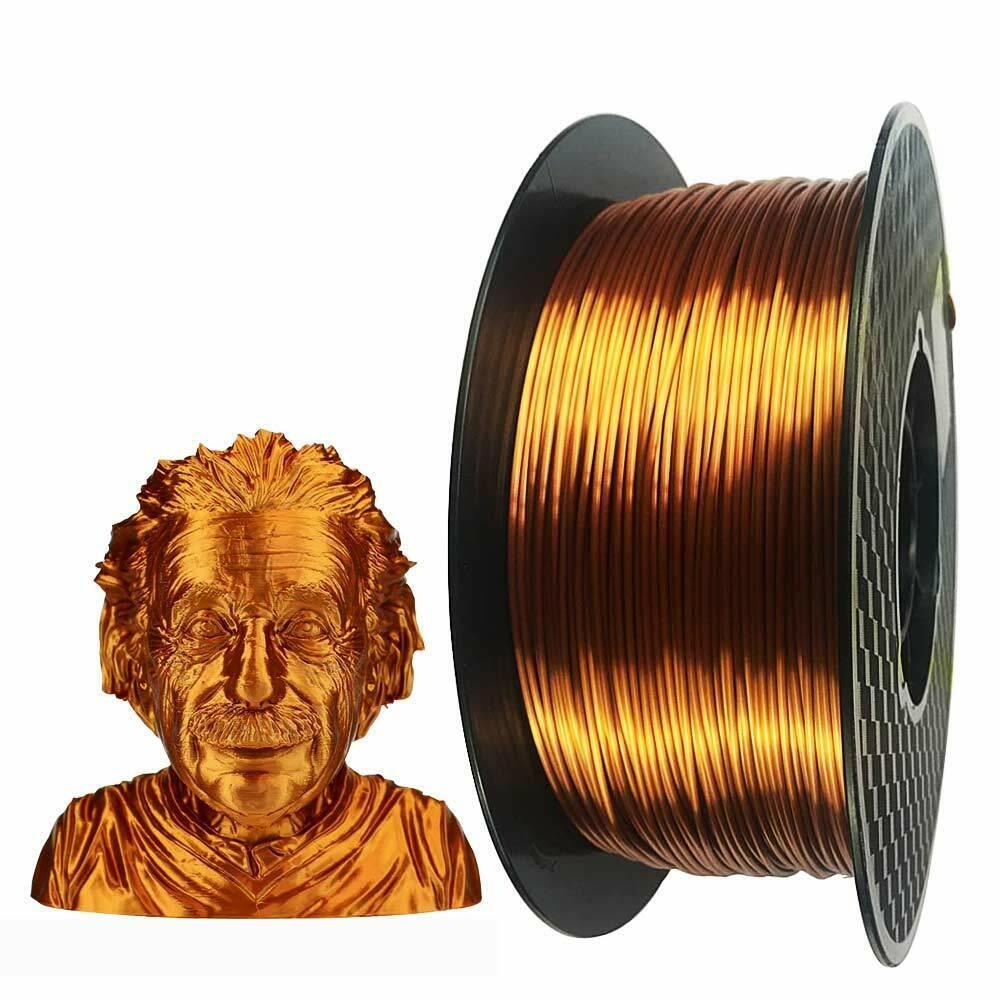3D Printer Filament PLA SILK Copper 1.75mm 1KG/2.2LB Spool High quality