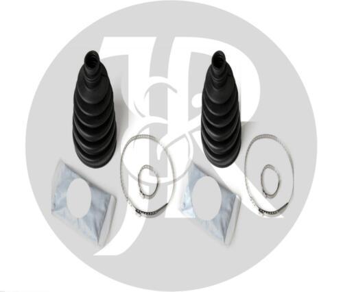 2x Peugeot 1007 extérieur cv joint boot kit-driveshaft Bootkit Gaiter stretch