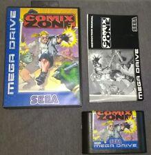 Comix Zone (Sega Mega Drive) Boxed with manual. VGC. Free P+P.