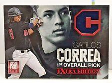 Carlos Correa 2012 Elite Extra Edition EEE 1st Overall Pick GU Jersey/999 ASTROS