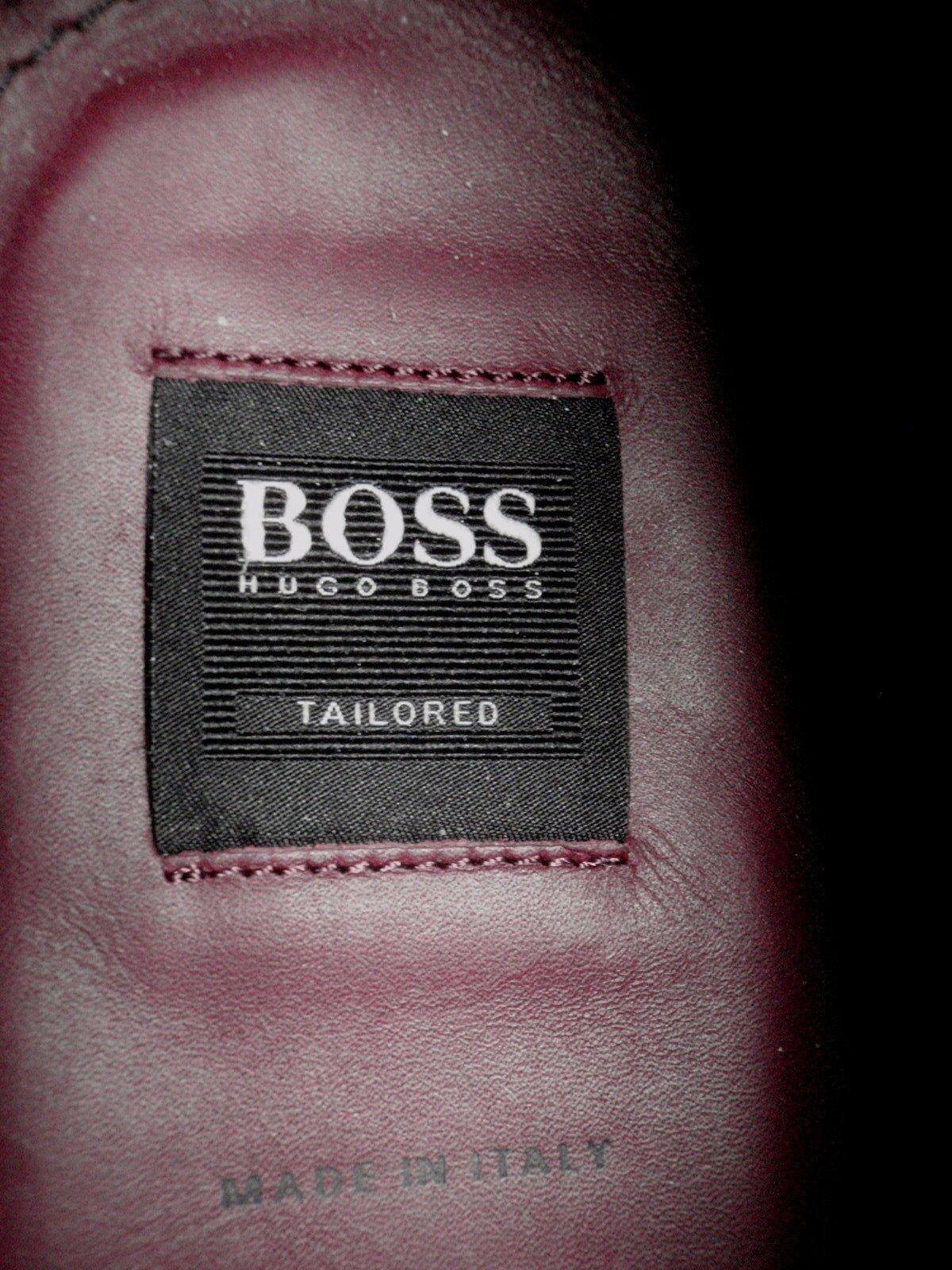 New HUGO BOSS TailoROT Wholecut Leder Lace Up Dark Braun Leder Wholecut Schuhes UK 11 40bc51