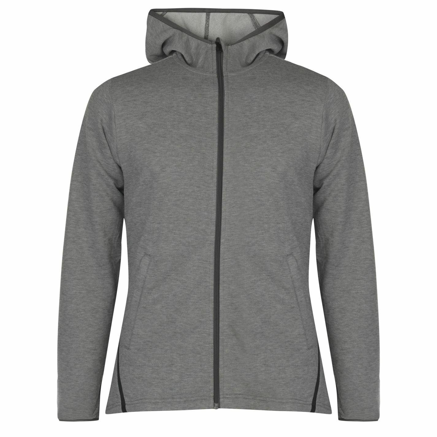 Adidas Zipped Sport Activity Hoody Mens Gents Performance Hoodie Hooded Top High