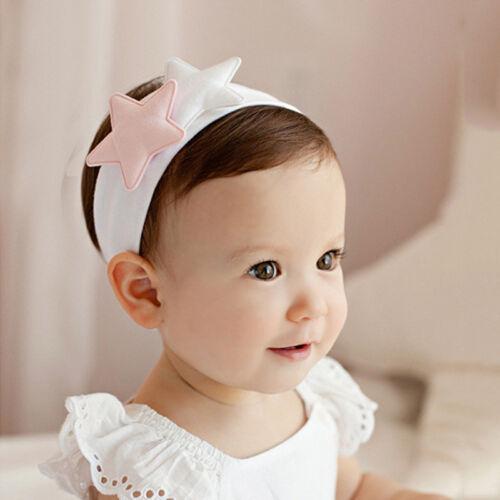 Girls Star Headbands Childrens Hair Accessories Baby Headband Head Wrap~