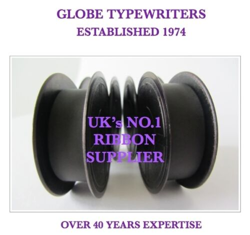 2 x 1009FN PURPLE TYPEWRITER RIBBONS FITS ALL BROTHER MANUAL TYPEWRITERS