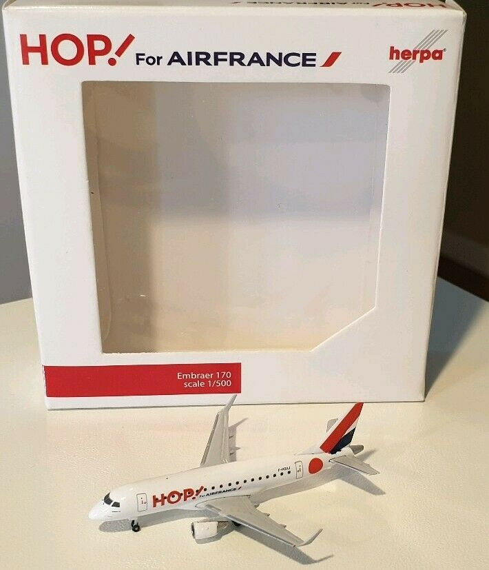 HERPA WINGS 1 500 Hop for Air France Embraer E170 F-HBXJ 526302