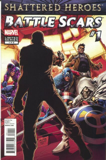 Battle Scars 1 of 6 Marvel 2012 VF 1st Agent Phil Coulson Marcus Johnson SHIELD