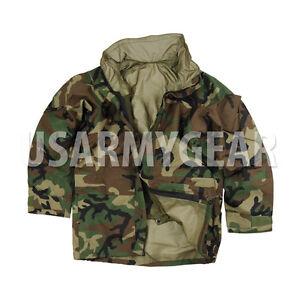 US Army Cold Wet Weather Gen 2 II ECWCS Woodland Goretex Parka ...