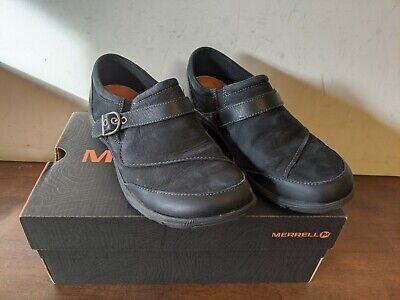 Dassie Buckle Slip-On Shoe,Black,8.5 M
