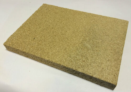 JEWELLERS HEAT PROOF SOLDERING BOARD SHEET BLOCK JEWELLERY MAKING 400x200x25mm