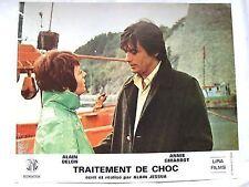 ANNIE GIRARDOT ALAIN DELON LOBBY CARD TRAITEMENT DE CHOC