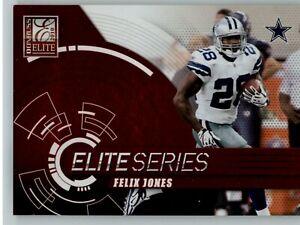 2010 Donruss Elite Elite Series Red /999 #10 Felix Jones - Dallas Cowboys