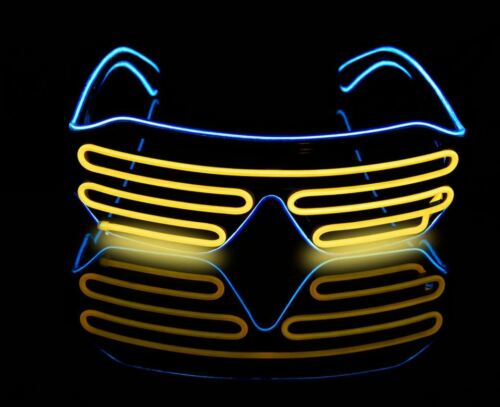 LED Flashing Luminous Rave Night Birthday Party Glasses Club Festival House