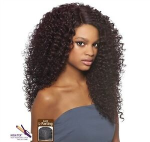 Image is loading Outre-Synthetic-L-Parting-Lace-Front-Wig-DOMINICAN- c6435828e