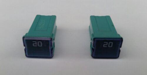 Vauxhall Opel Zafira B 2 x 20 amp box  slow blow fuses Astra H Fuses