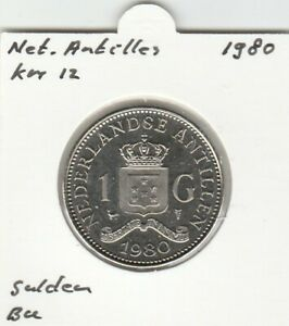 Netherlands-Antilles-1-gulden-1980-BU-KM12