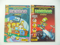 2x Comic - Simpson Sonderheft - Bart Simpson`s Horror Show, Nr: 3. und 4. Top