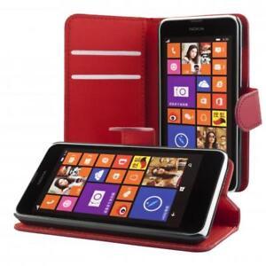 Nokia-Lumia-630-635-portafoglio-custodia-porpora-wallet-case-cover