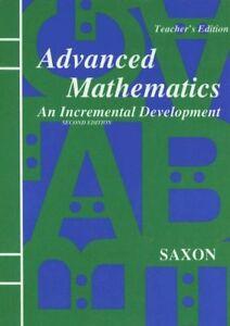 Advanced-Mathematics-An-Incremental-Development-Teacher-039-s-Edition-2nd-Edit