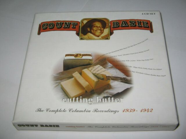 COUNT BASIE : CUTTING BUTTER COMPLETE COLUMBIA RECORDINGS 1939-42  RARE 4 CD SET