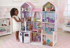 Kidkraft Country Estate Dollhouse Wooden Barbie 30pc Furniture BBQ