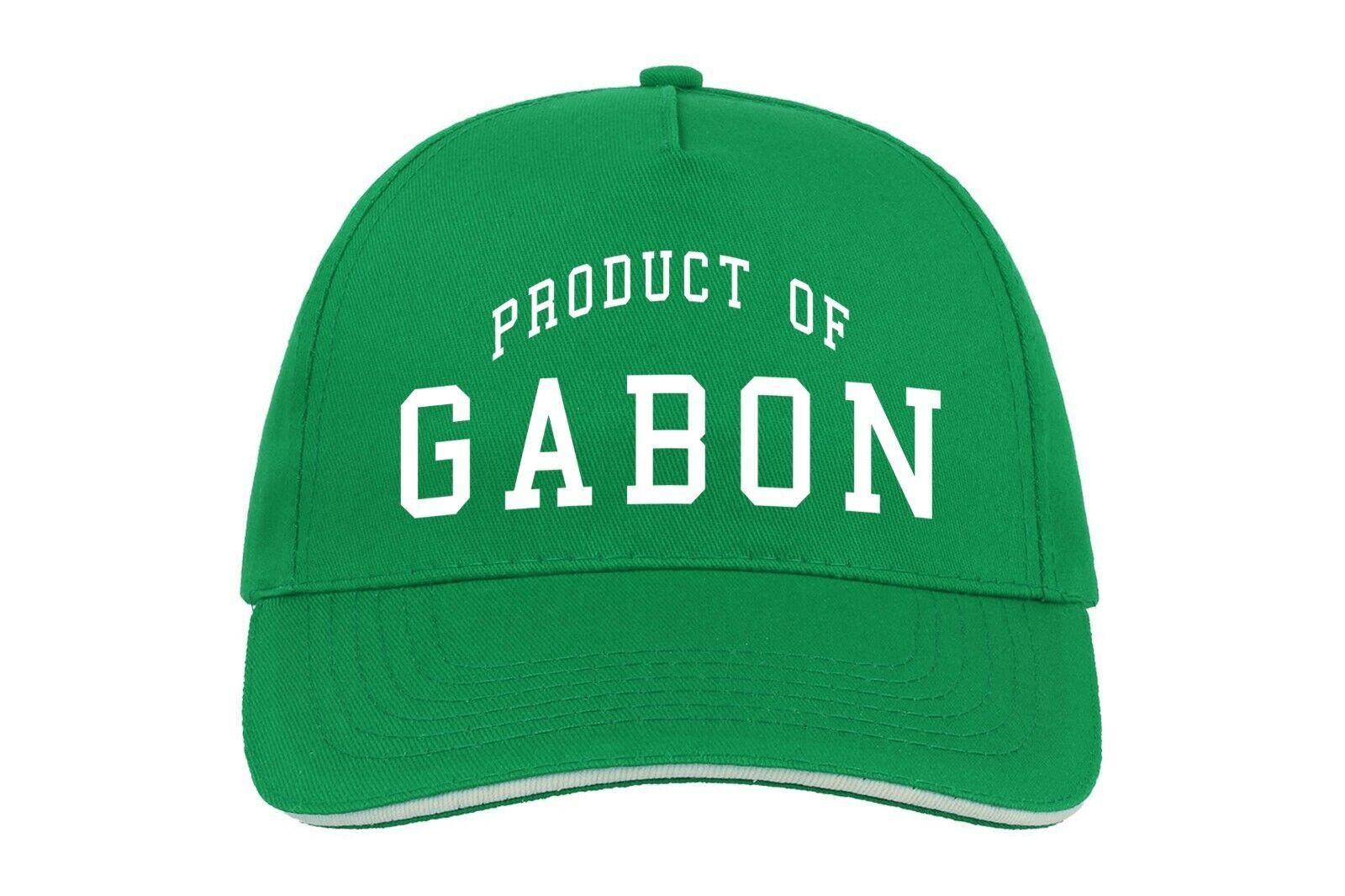 Gabon Produkt Von Baseballmütze Cap Eigener Geburtstagsgeschenk Country Gabuner