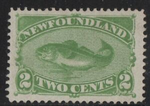 MOTON114-46-Newfoundland-Canada-mint-no-gum-well-centered
