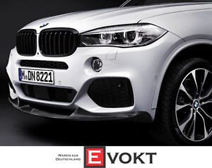 Details About Bmw M Performance X5 E70 Lci X6 E71 E72 Black Kidney Grille Genuine New