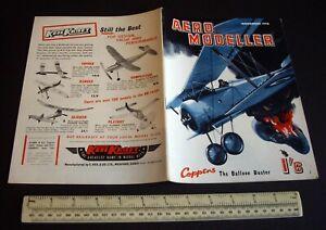 Vintage Aeromodeller Magazine (Nov 1958). Kometa 5cc Engine Test. Kleeware Ad