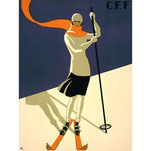 St-Croix-Switzerland-Alpine-Ski-Large-Wall-Art-Print-18X24-In