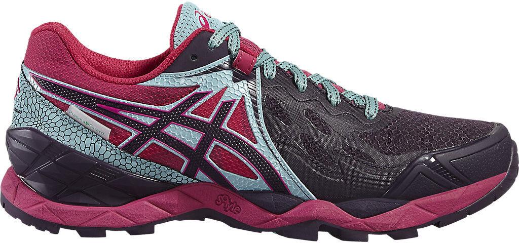 Asics Gel Fuji Endurance plasmashield Femme Trail Chaussures De Course-Rose