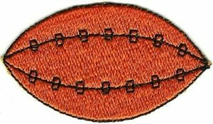 Football Rugby Ball embroidery patch