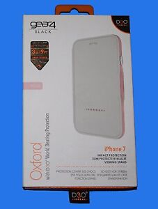 100-GENUINE-Gear4-BLACK-D3O-Oxford-Protective-Case-IC7031D3-ROSE-for-iPhone-7