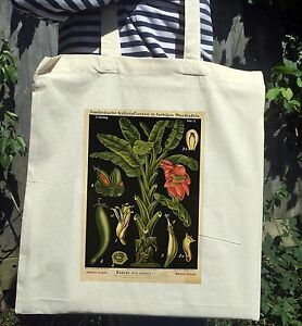 Vintage-Victorian-Botanical-Illustration-Print-White-Cotton-Tote-Bag-No-2