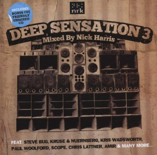 1 of 1 - Deep Sensation 3 (SEALED 2xCD) Nick Harris Steve Bug Alexkid Shara Nelson Scope