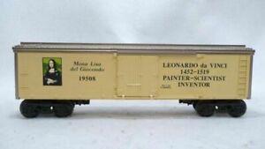 Lionel-6-19508-Leonardo-Da-Vinci-Inventors-Series-Reefer-New-in-Box-C-9-gn