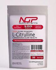 L-CITRULLINE Powder 100g (3.5oz) - Athletic Performance -NO2 -Cardio -Sex -NGP