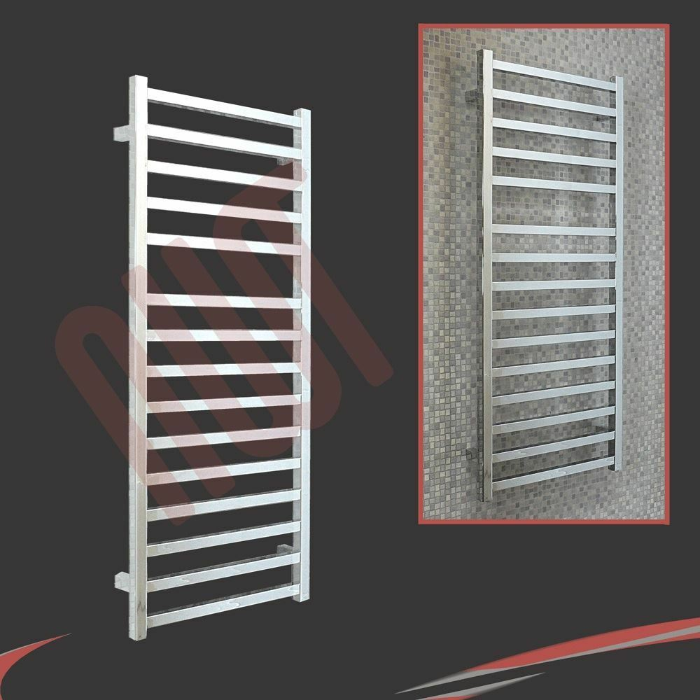 500mm (l) x 1165mm (h)  BLOODLINE  chrome porte-serviettes chauffant radiateur 1353 BTU