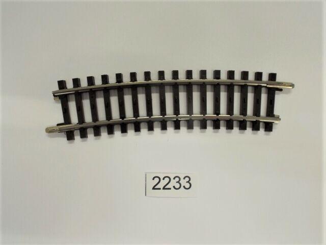 Märklin 2235 h0 K-Binario curvo binario r2//3 ° + Nuovo