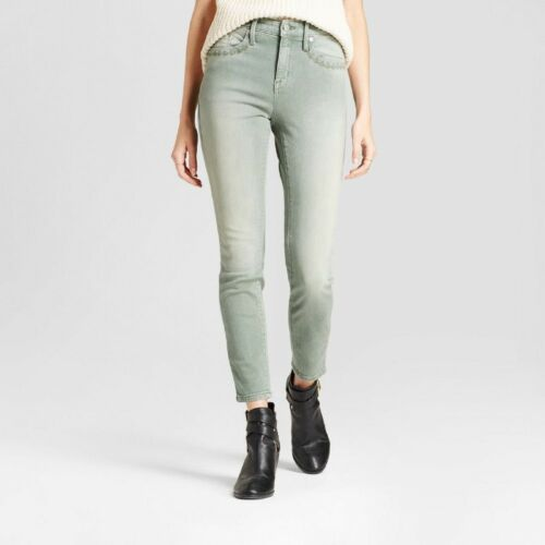 Choose Size//Color Mossimo Denim Women/'s High-Rise Power Stretch Skinny Jeans