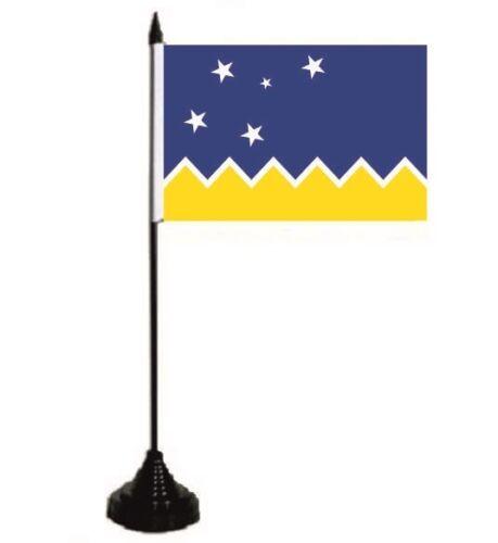 Tischflagge Magellan Region Tischfahne Fahne Flagge 10 x 15 cm