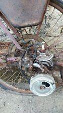 ancien CYCLO  moteur dans la roue  VAP 4 ,scooter,moto,galet,non emailée