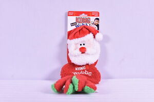 Kong-Flatz-Large-Wubba-Holiday-Santa-Clause-Dog-Toy