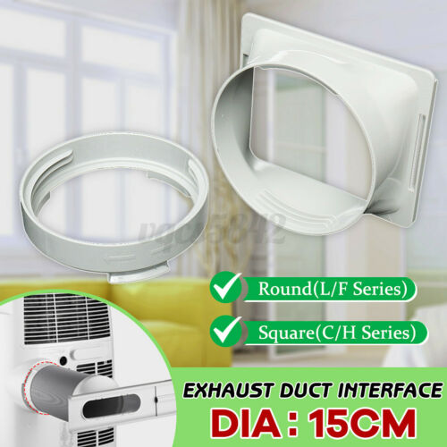 5.9/'/' Window Adaptor Exhaust Duct Hose Connector For Portable Air Conditioner
