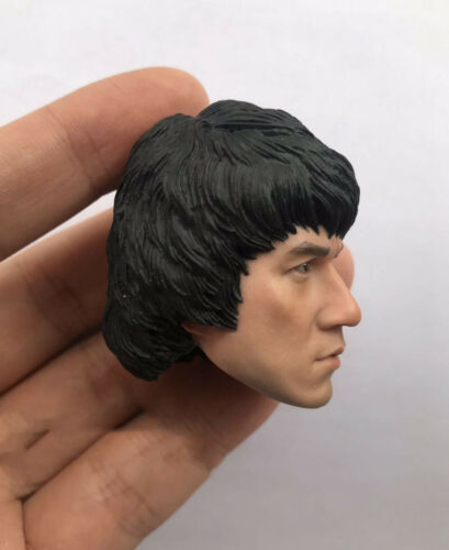 Jackie Chan 1//6 Male Head Sculpt  star Model Kung Fu Actor F12/'/' HT Figure Body